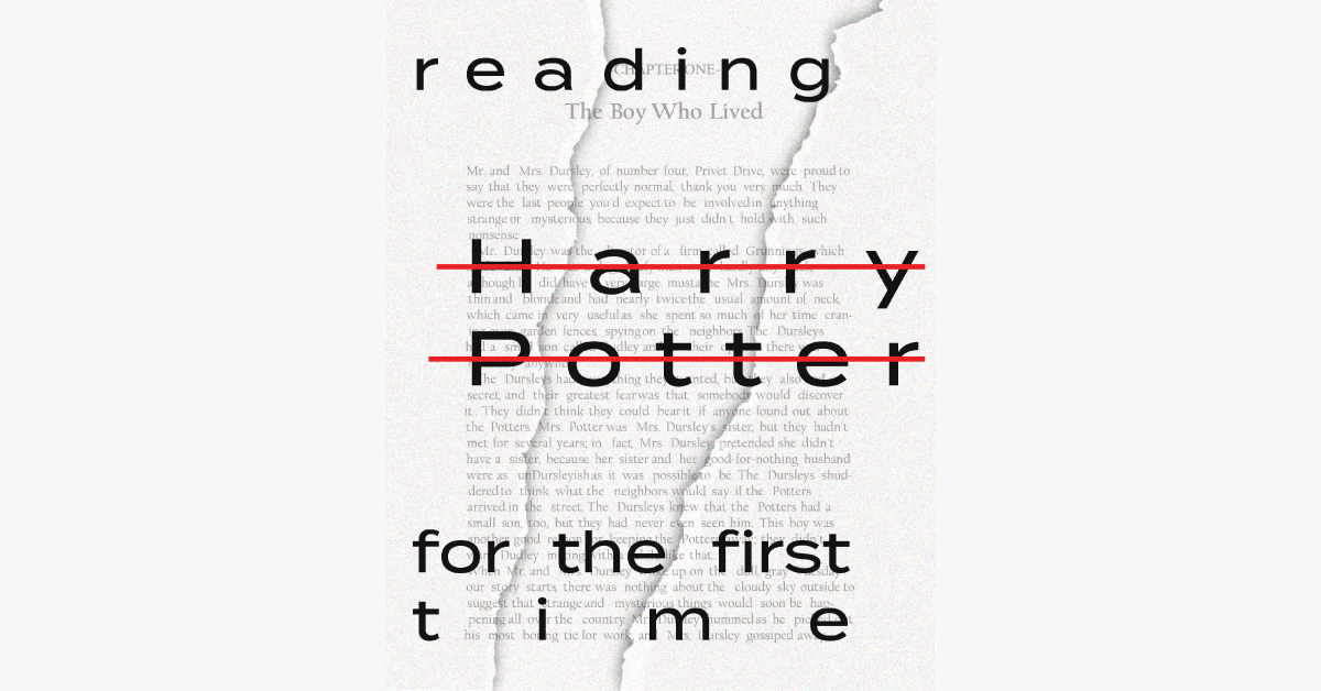 Reading Harry Potter for the First Time, in the Age of the Cancelled J.K. Rowling