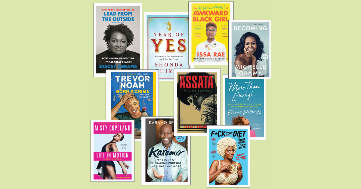 10 Memoirs by Black Celebrities: Politicians, Comedians, & Other Badasses